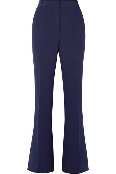 Rebecca Vallance MIMOSA STRETCH-CREPE BOOTCUT PANTS