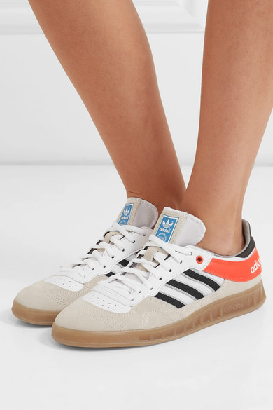adidas Originals | Handball Top Sneakers aus Veloursleder