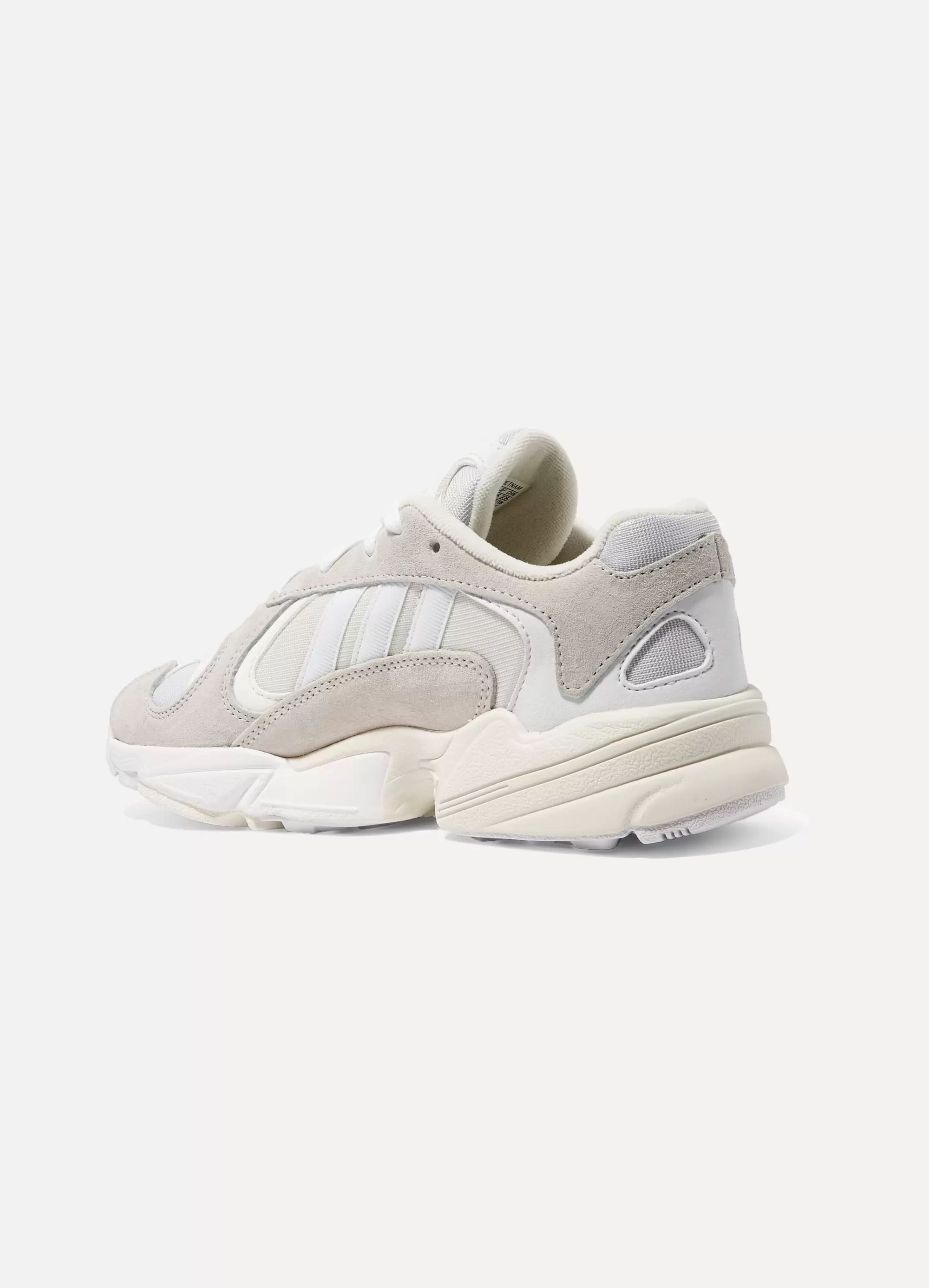 adidas Originals Yung-1 leather, suede and mesh sneakers