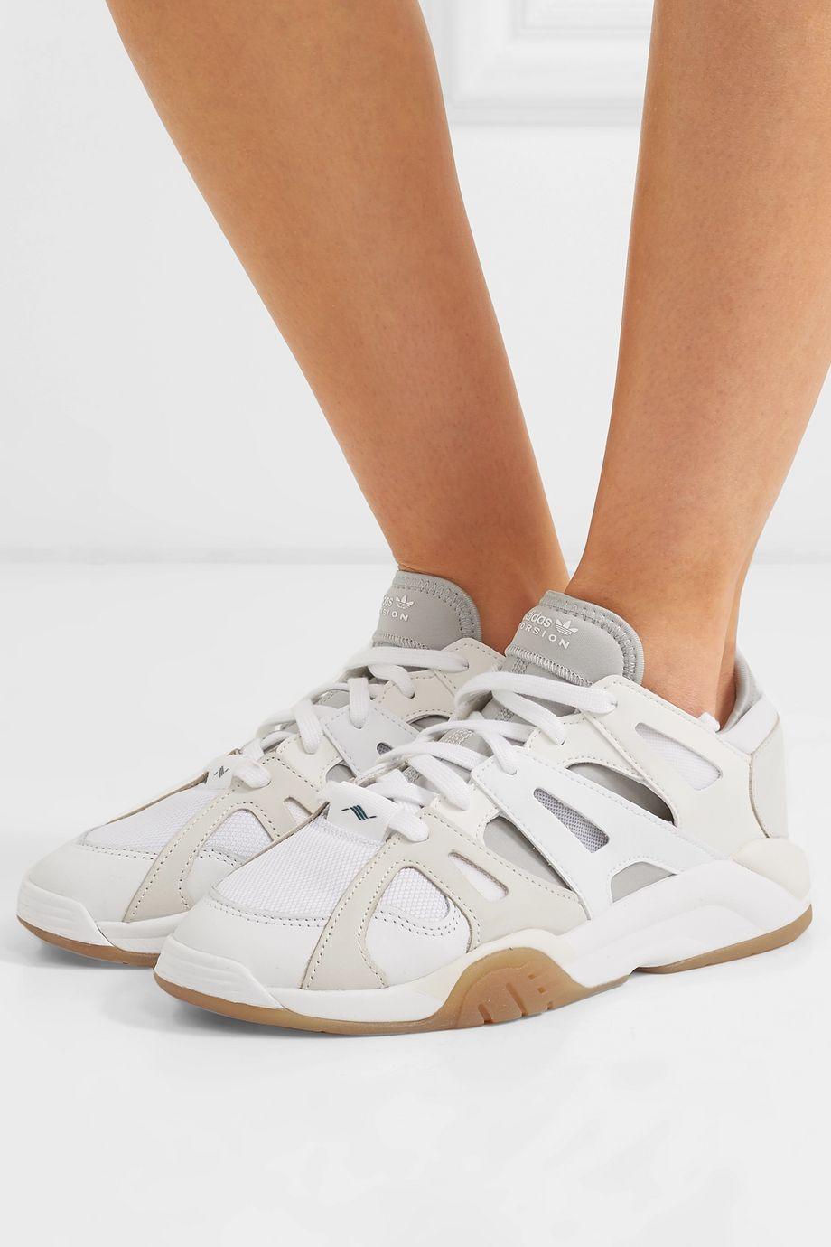 adidas Originals Dimension Low Sneakers aus Leder, Neopren und Mesh