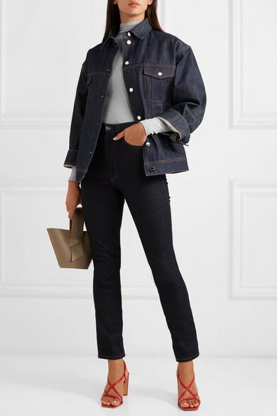 f1a7012428 Wolford. Joan metallic ribbed-knit turtleneck bodysuit