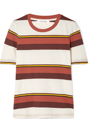 FRAME True Crew striped cotton-jersey T-shirt