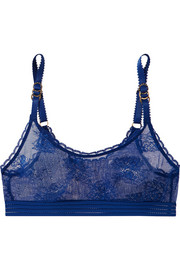 Stella McCartney Stretch-lace soft-cup bra