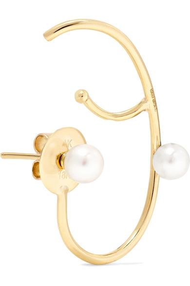 Lily 18 Carats Boucle D'oreille De Perles D'or - R Ana Khouri PeWzx