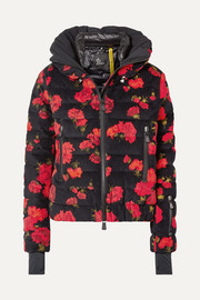 Moncler Genius + 3 Grenoble floral-print quilted cotton-blend down jacket