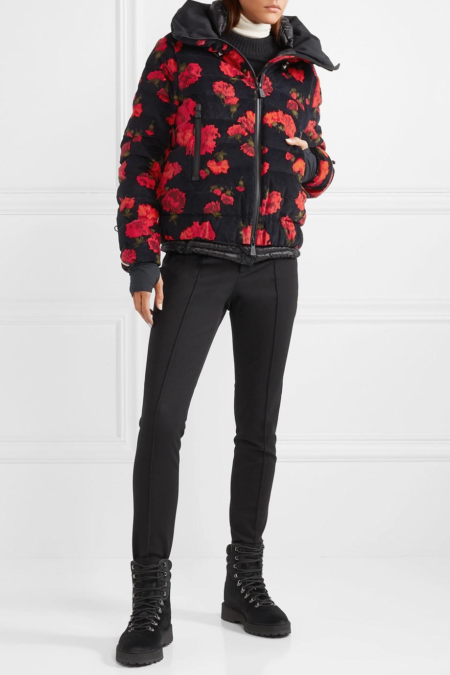Moncler Genius + 3 Grenoble floral-print quilted cotton-blend down jacket