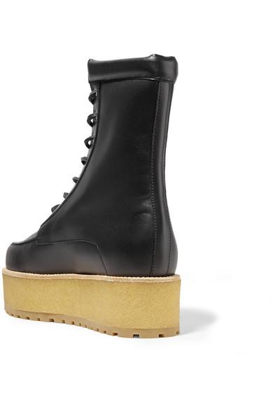 Gabriela Hearst | Leder David Ankle Boots aus Leder | mit Plateau b0af94