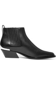 Westin metal-trimmed leather ankle boots