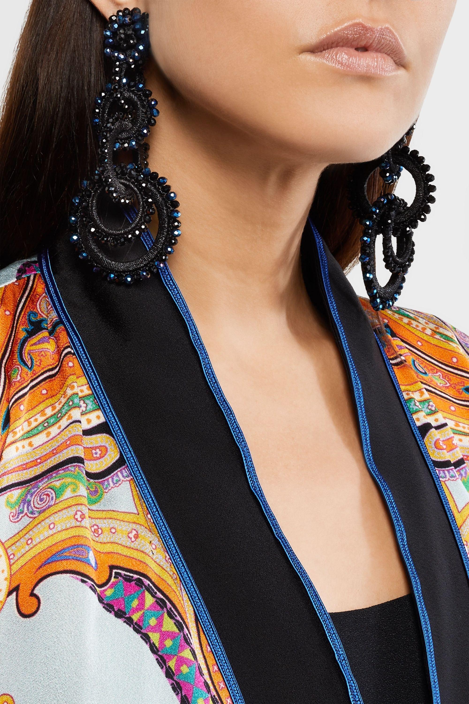 Bibi Marini Sundrop bead and silk earrings