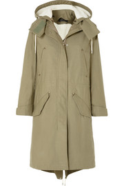 Penelope Parka aus Baumwoll-Canvas in Oversized-Passform