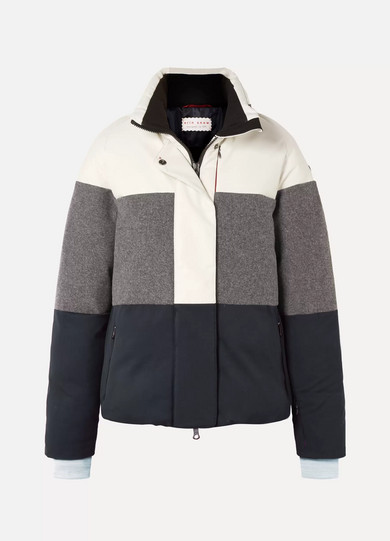 Padded Trio Tone Ski Jacket