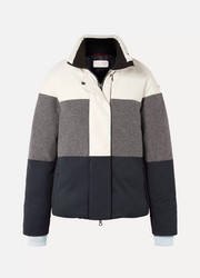 Erin Snow Lola color-block paneled merino and merino wool-blend ski jacket