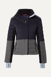 Erin Snow Sari color-block quilted jacket