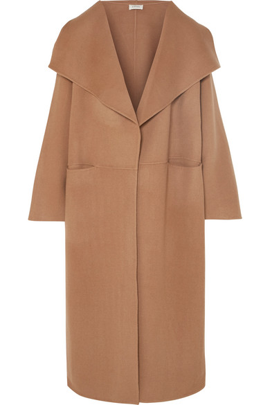 Totême - Annecy Oversized Wool And Cashmere-blend Coat - Camel