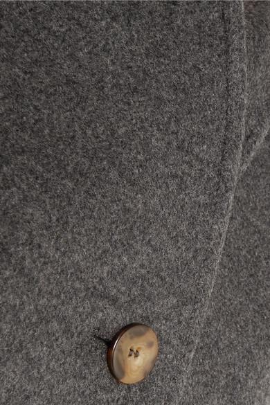 1e27a5ae7983 Totême   Bergerac oversized double-breasted wool-blend felt coat ...