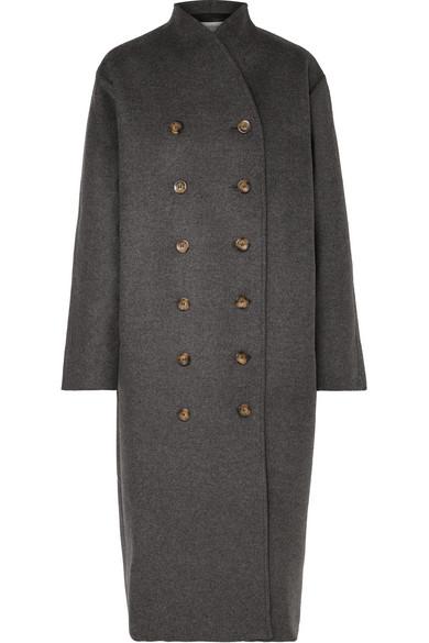 505ecc68f226 Totême   Bergerac oversized double-breasted wool-blend felt coat    NET-A-PORTER.COM