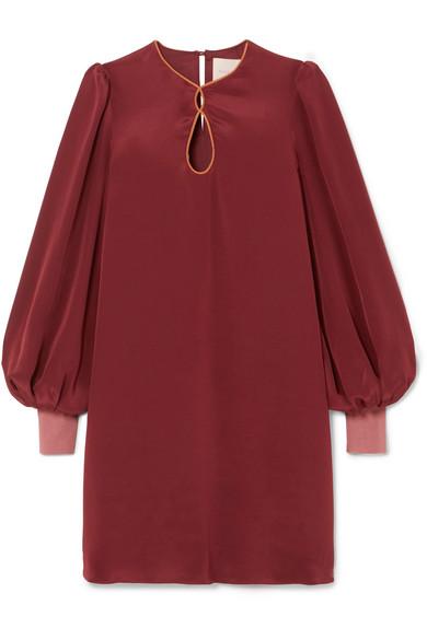 ROKSANDA BLAYNA SILK CREPE DE CHINE DRESS