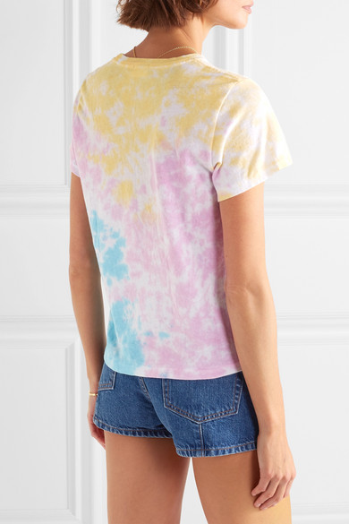 done The Venice Printed Tie-dyed Cotton-jersey T-shirt xOzoFV