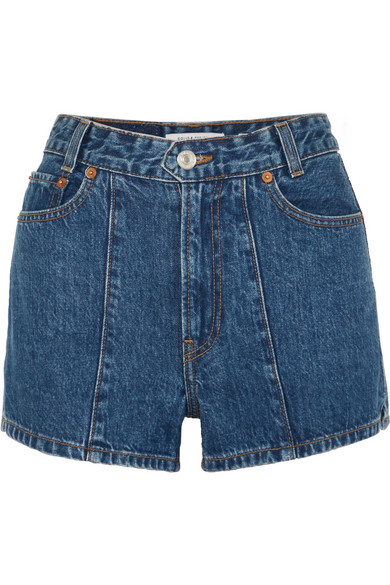 + RE/DONE THE VENICE DENIM SHORTS