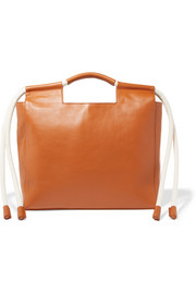 HEREU Botiga rope-trimmed leather tote