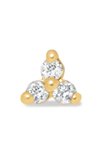 2018 Unisex Cheap Online Outlet Best Place Tiny 18-karat Gold Diamond Earring - one size Maria Tash Very Cheap Price Where Can I Order oGrY0n2vg
