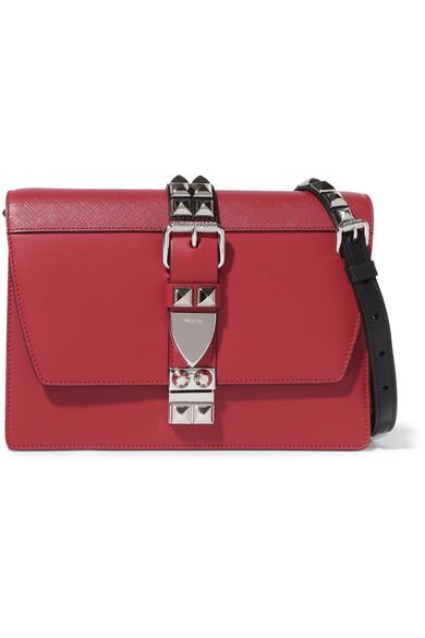 435b5941 Elektra large studded leather shoulder bag