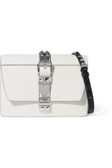 ea8e2ebb1de1 Prada | Elektra large studded leather shoulder bag | NET-A-PORTER.COM