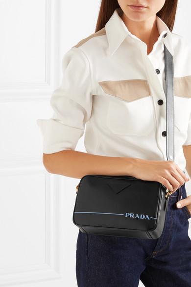 1e387bac4beb1a Prada | Mirage leather camera bag | NET-A-PORTER.COM