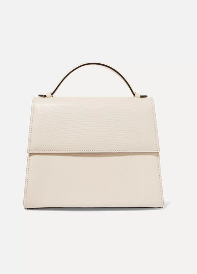 HUNTING SEASON Mini Lizard Tote in Ivory