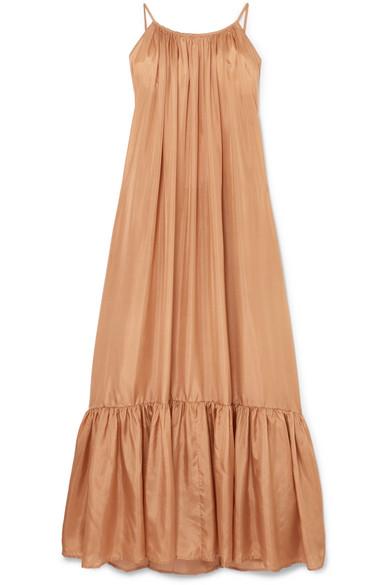 KALITA BRIGITTE SILK-HABOTAI DRESS