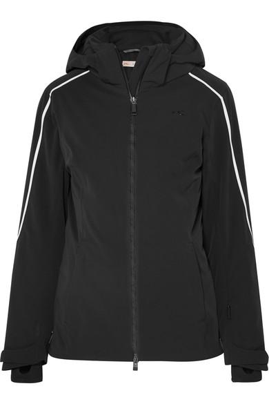 KJUS Formula Hooded Ski Jacket in Black