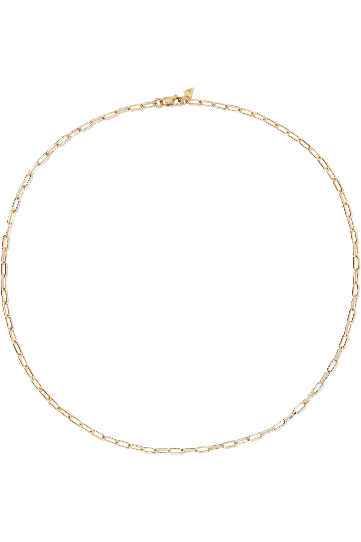 Loren Stewart 14-karat yellow gold necklace