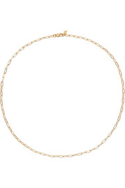 14-karat yellow gold necklace