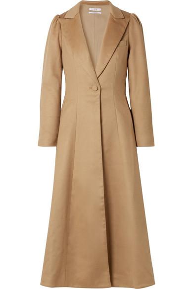 Co - Wool Coat - Camel