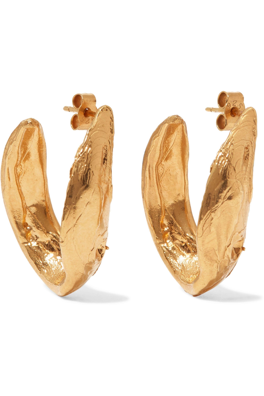 Alighieri Surreal gold-plated earrings