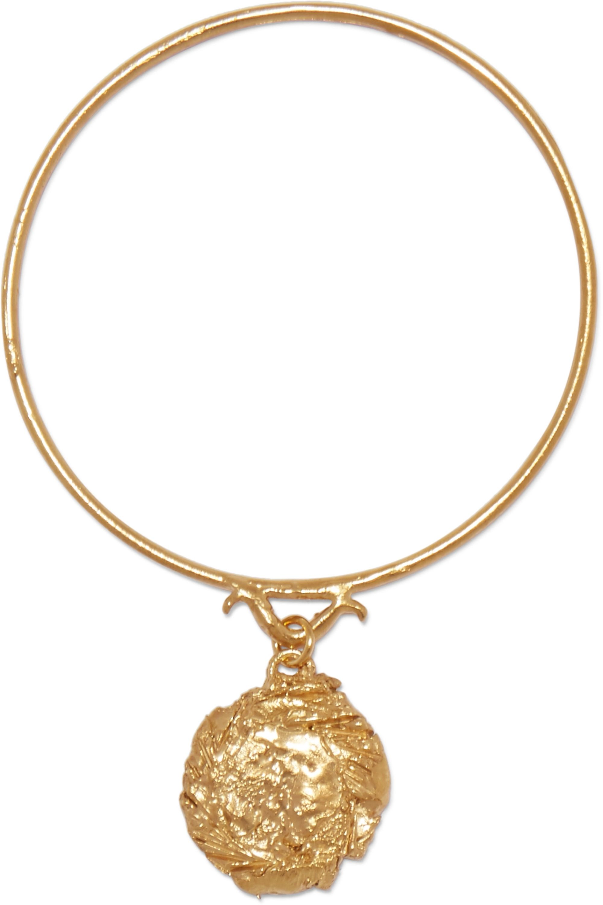 Alighieri The Fortune Charm gold-plated bracelet