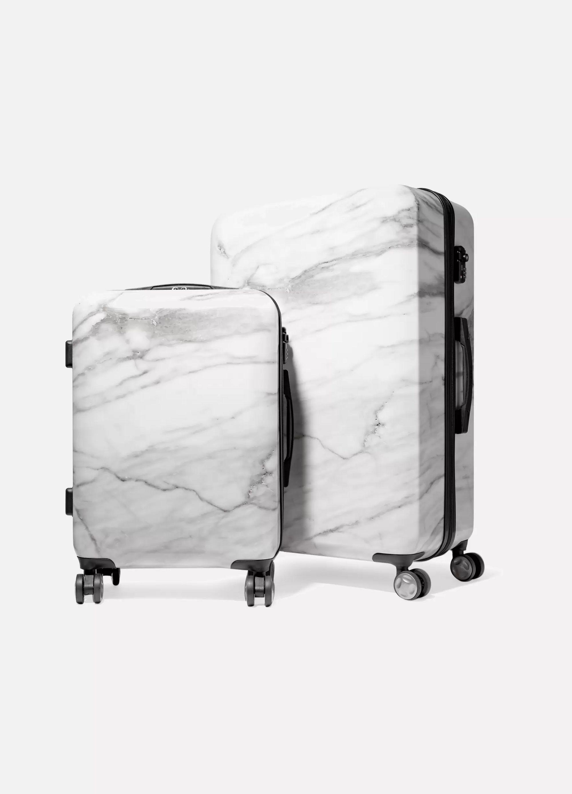 CALPAK Astyll marbled hardshell suitcase set