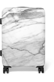 Astyll Carry-On marbled hardshell suitcase