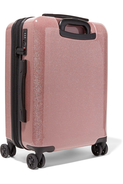 CALPAK Medora Carry-On glittered hardshell suitcase
