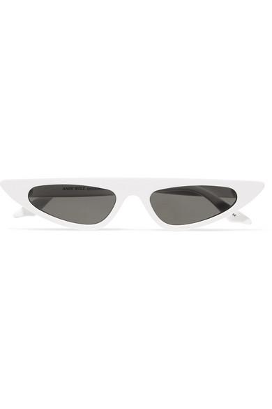 5e0e8ab97f Andy Wolf. Florence cat-eye acetate sunglasses