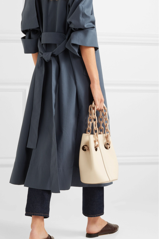 Trademark Goodall leather bucket bag