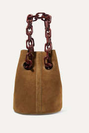 Goodall suede bucket bag