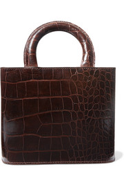 Nic croc-effect leather tote