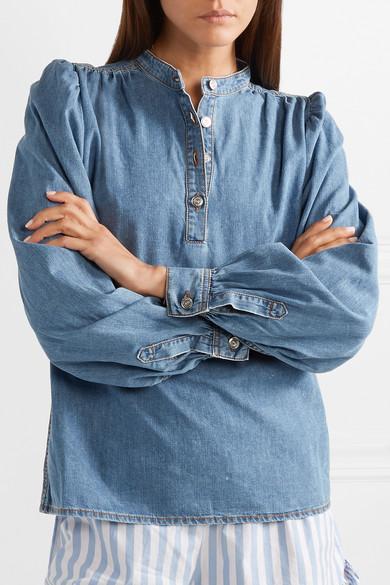 7019a7666ca GANNI. Denim blouse