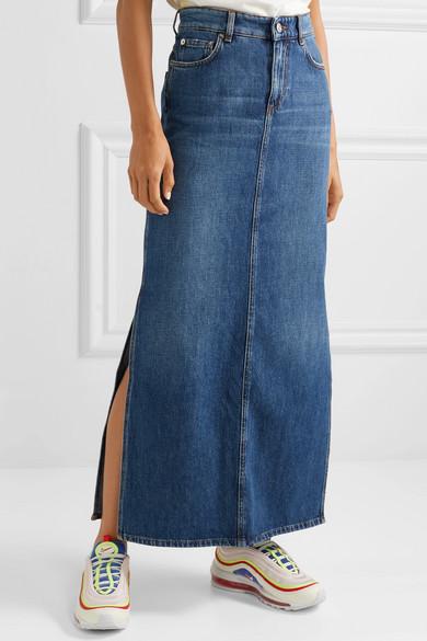 ac72d24354c Denim maxi skirt