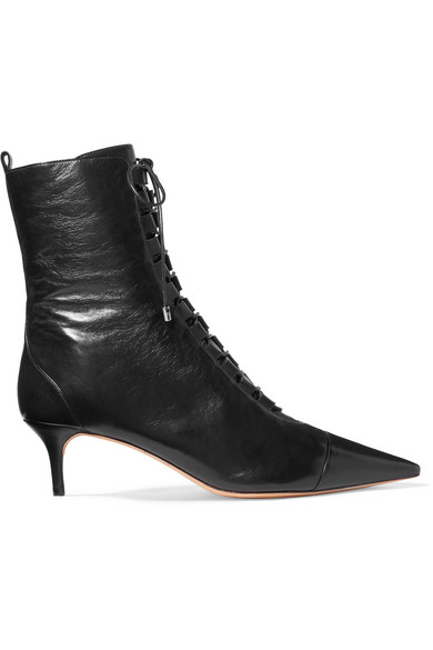 5a359df830cd Alexandre Birman. Millen lace-up leather ankle boots