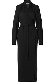 Kiera Pima cotton-jersey robe