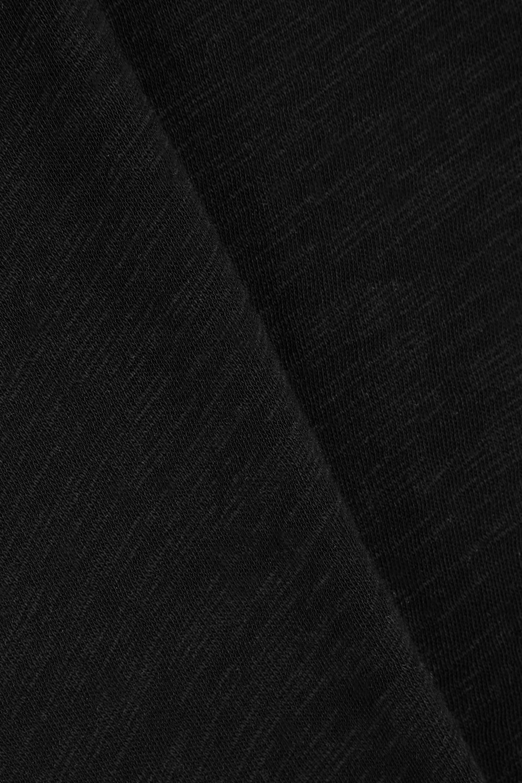 Black Boyfriend Slub Cotton-jersey T-shirt   Atm Anthony Thomas Melillo