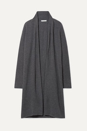Guilia rib-trimmed cashmere cardigan