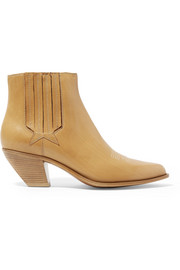 Sunset leather ankle boots